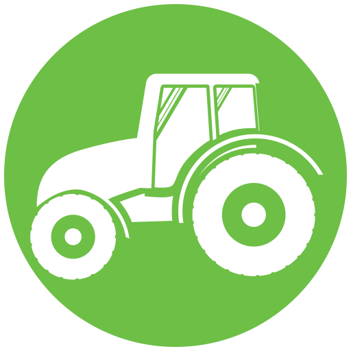 Agricultrual Tractor icon